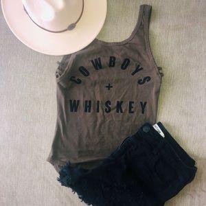 Cowboys & Whiskey Bodysuit 🥃